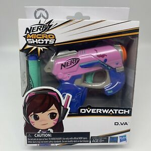 Nerf MicroShots Overwatch D.Va Hasbro