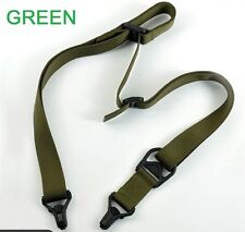 OD Green Rifle Sling 1 & 2 Point Tactical Quick Release for MS3 Gun Strap