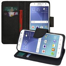 Funda protectora para Samsung Galaxy J5 Sm-j500 Móvil cartera Plástico negro