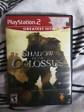 SHADOW OF THE COLOSSUS PS2 USED