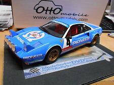 FERRARI 308 GTB Gr.B Rallye Pioneer #4 Andruet Tour de France Otto NEU NEW 1:18