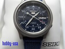 SEIKO  5  SNK807 Blue Dial Mechanical Automatic  SNK807-NEW