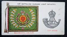 DURHAM LIGHT INFANTRY   Battalion Insignia    Original 1930 Vintage Card