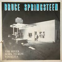 "BRUCE SPRINGSTEEN THE RIVER 3 TRACK EP 12"" CBS UK 1980 PRO CLEANED"