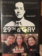 29th & Gay (DVD, 2007) Cult Classic Homosexual Film Rare Sealed. NEW