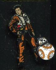 Star Wars The Last Jedi Poe Dameron and BB-8 Disney Pin 124077