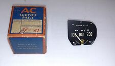 AC Delco 1951 - 1952 Pontiac Dash Temperature Gauge NOS Part # 1512287