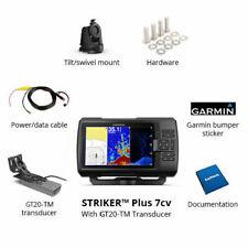BRAND NEW Garmin Striker Plus 7Cv with Cv20-TM transducer, 010-01873-00 BRAND NE