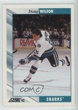 1992-93 Score Doug Wilson #15