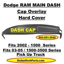 DODGE Ram Main ABS Plastic Dash Cap Overlay Hard Cover For 02-05 P/U Shadow Blue