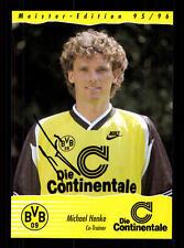 Michael Henke Autogrammkarte Borussia Dortmund 1995/96 Original Sign + A 69396