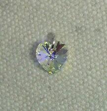 Corazón De Cristal Charm-Plata Esterlina jumpring & hecho con Swarovski Cristal AB