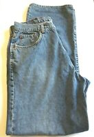 Lucky Brand Men's Jeans Medium Wash Dungarees Size 33 x 32 USA Made