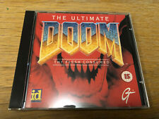 The Ultimate Doom Thy Flesh Consumed 1995 PC CD-ROM - Vintage Gaming Retro Doom.