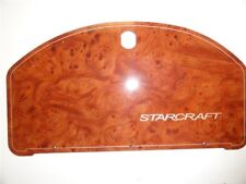 "STARCRAFT FAUX WOOD GRAIN GLOVE BOX PANEL DOOR 14-1/2"" x 7-3/4"" MARINE"