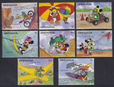 R806. Grenada - MNH - Cartoons - Disney's - Various Activities