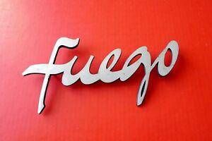 Sigle RENAULT FUEGO Monogramme original logo Emblem