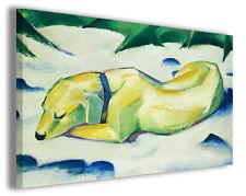 Quadro moderno Franz Marc vol XXV stampa su tela canvas pittori famosi