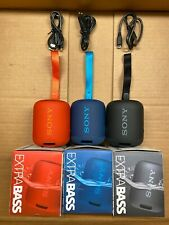 Genuine Sony SRS-XB12 Extra Bass Portable Water Proof Bluetooth Speaker