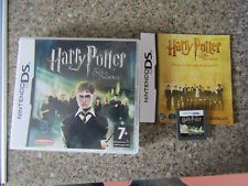 NINTENDO DS GAME HARRY POTTER AND THE ORDER OF THE PHOENIX