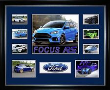 Ford Focus RS Limited Edition Framed Memorabilia