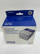 Epson T001 ( T001011 ) Color Genuine ink Cartridge For Stylus Photo 1200 Printer