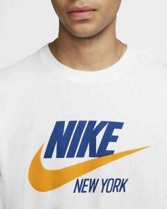 Nike Sportswear Futura New York  Men's Long-Sleeve Retro Shirt size L XL