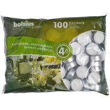 Teelichter mit 4 Std. Brenndauer 100er Beutel Bolsius Professional vers. Mengen