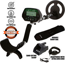 Treasure Cove TC-3020 Fortune Finder Digital Platinum Gold Silver Metal Detector