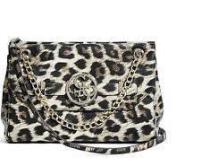Guess Women's Katlin Convertible Leopard Crossbody Handbag Purse NWT MSRP $98