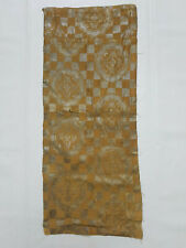 Antique Chinese Brocade Wall Hanging 75x31cm