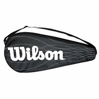 Wilson Single Tennis Racket Full Length Racquet Cover and strap.performance.