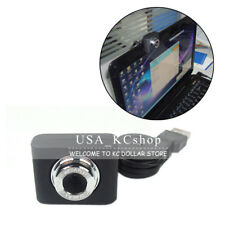 New USB Webcam Camera Web Cam With Built-in Mic Retractable Clip for Deskto