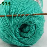 Sale 1 Skein x50gr LACE Soft Crochet Acrylic Wool Cashmere hand knitting Yarn 25