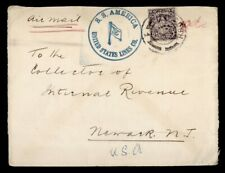 DR WHO IRELAND PAQUEBOT SS AMERICA SHIP AIRMAIL TO USA  g41037