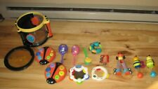 Parents Magazine Bee Be Bop Band Musical Instrument Set Lot Toddler Day Care