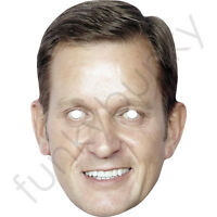 Jeremy Paxman Political Interviewer Card Mask All Our Masks Are Pre-Cut!