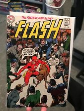 Flash #195 Out Of Our Way Flash DC Comics signed Gil Kane Murphy Anderson