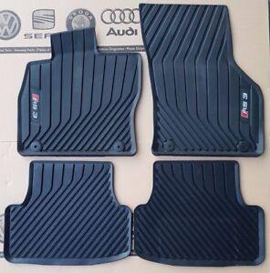 Rubber Upper Floor Black Trunk Mat A3 8V Sportback 2012- Gledring 1108 Rubbasol