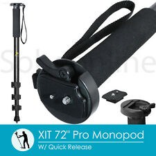 "XIT 72"" Full-Size Professional Monopod W/ Quick Release - Black"