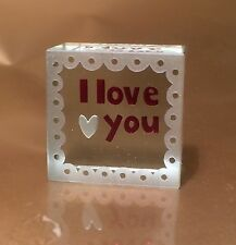 Spaceform I Love You Token Romantic Christmas Gift Idea for Her & Him Men 1255