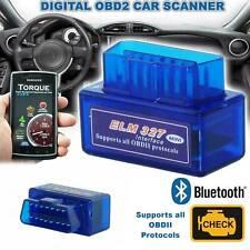 Car Bluetooth OBD2 OBDII Scanner Code Reader Automotive Diagnostic Tool ELM 327