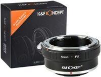 K&F Concept Objektivadapter für Nikon AI/F Objektiv auf Fujifilm X FX Kamera
