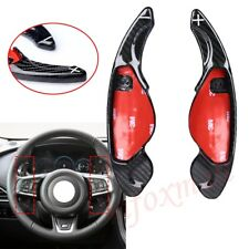 Carbon Shifter Steering Wheel Shift Gear Paddle For Jaguar F-Type F-Pace XF XJ