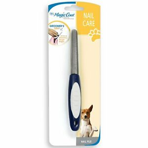Four Paws Pet Products Nail Care File with Contour Design Basic Blue Metal top