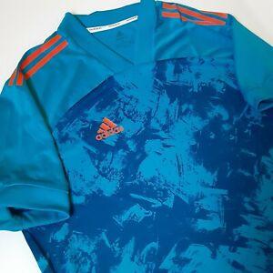 New Adidas Condivo 20 Primeblue Mens Jersey Size XL Blue Adult Soccer Futbol
