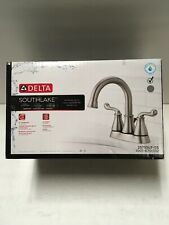 Delta Southlake Centerset 2-Handle Bathroom Brushed Nickel  Model: 25755LF-SS