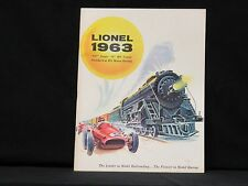 1963 LIONEL MINT CATALOG BRAND NEW CONDITION