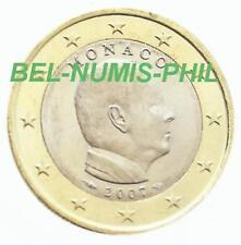 MONACO 2007 - 1 Euro uit de rol - met muntmeesterteken/avec poinçon - UNC!