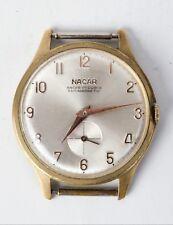 MEN'S WRIST WATCH NACAR 17 Rubis SWISS MADE ANTIMAGNETIC